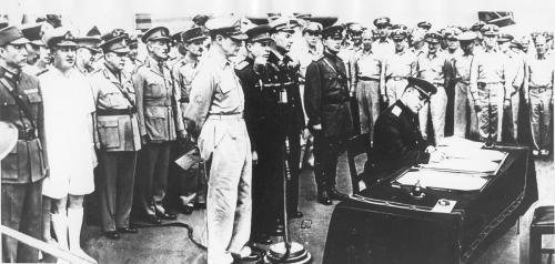 2 сентября 1945 г. Капитуляция Японии. Источник.Архив внешней политики РФ, фотофонд, к. 46, д.
